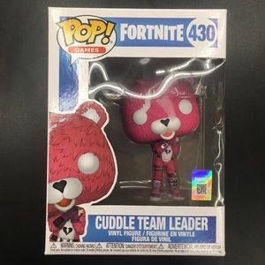 Fortnite Cuddle Team Leader Funko Pop